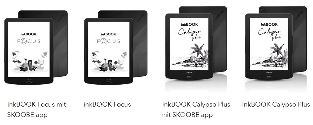 Inkbook eReader im Vergleich