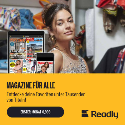 readly Magazin-Flatrate testen